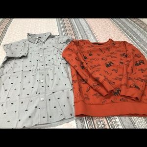 Boys Bundle of Old Navy/Carter's shirts